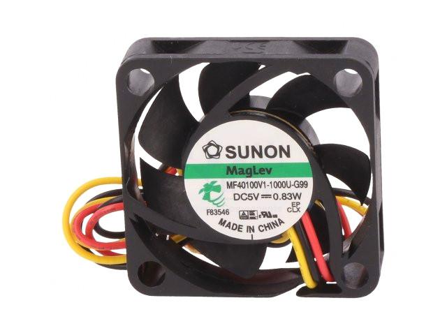 5V ventilátor 40x40x10 MF40100V1-G99 CY 4010/05-V1-G99