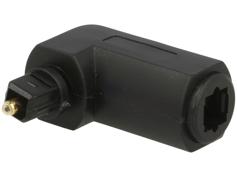 Optikai kábel toldó TOSLINK-TOSLINK 90fok AC-066