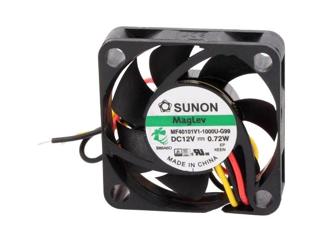 12V ventilátor 40x40x10 MF40101V1-1000U-G99 CY 4010/12-V1-G99-A