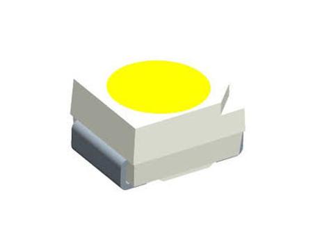 2835 hideg fehér, 2,7...3,2V 120° 5-8 lum LED-SMD 3528 CW