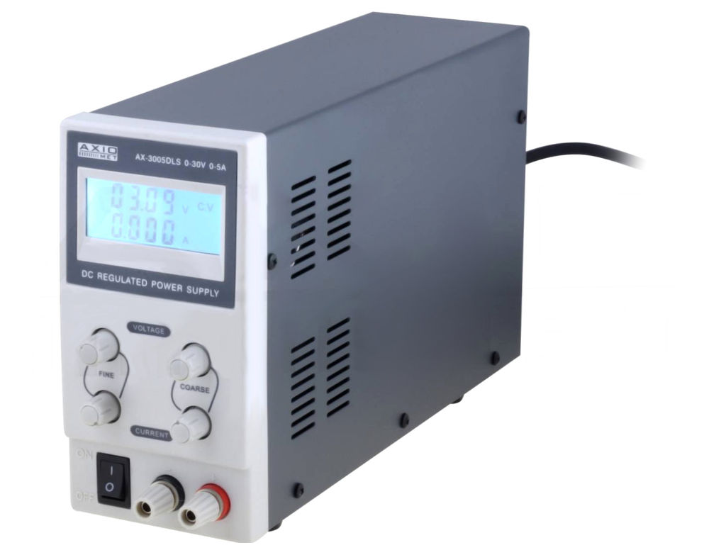 230VAC -> labor tápegység 0...30Vdc / 0...5A P.SUP.AS1005AL