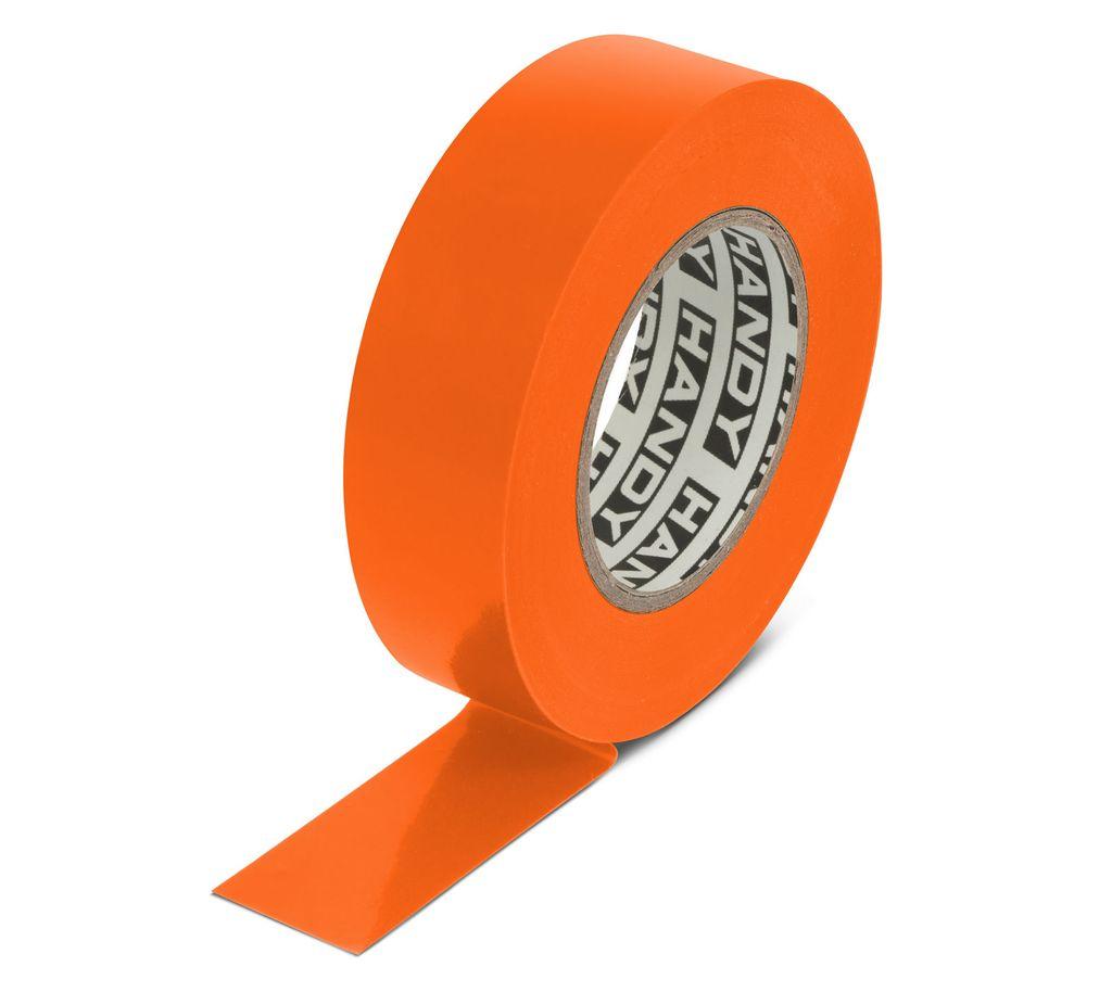 Szigetelőszalag 19mm 20m narancssárga V-00281