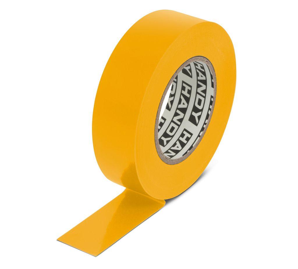 Szigetelőszalag 19mm 20m sárga V-00291