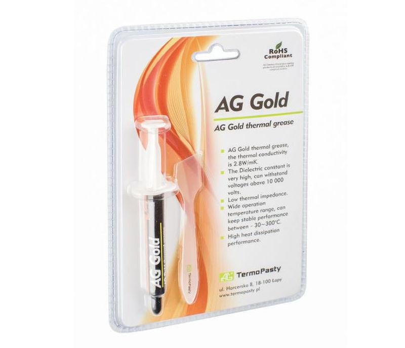 Hővezető paszta gold 3gr WPS 3GRAM