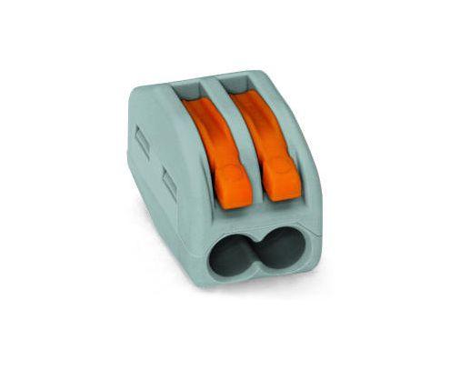 Oldható vezetékösszekötő 2p. 0,08-2,5mm2 WAGO-222412