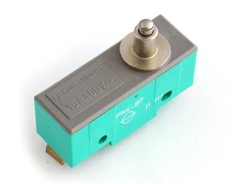Mikrokapcsoló ON-(ON) 3p. 49x26x17mm SW11525