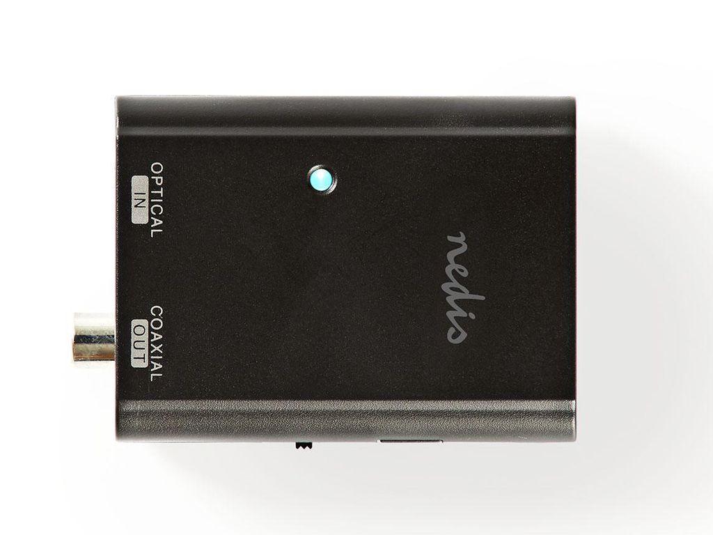 Toslink (optikai) - Koax (digitális) audio adapter AC-101