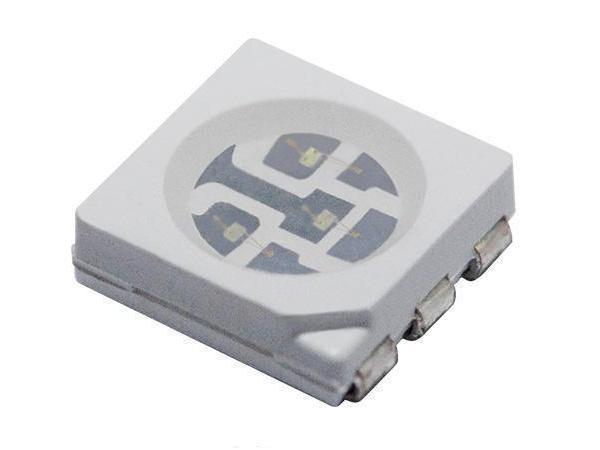 LED SMD RGY 3 színű 120° 900, 900, 1120mcd, PLCC6 LED-SMD RYG 2920