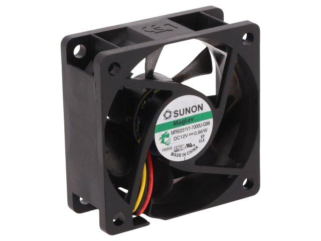 12V ventilátor 60x60x25 MF60251V1-G99 CY 6025/12-V1-G99A