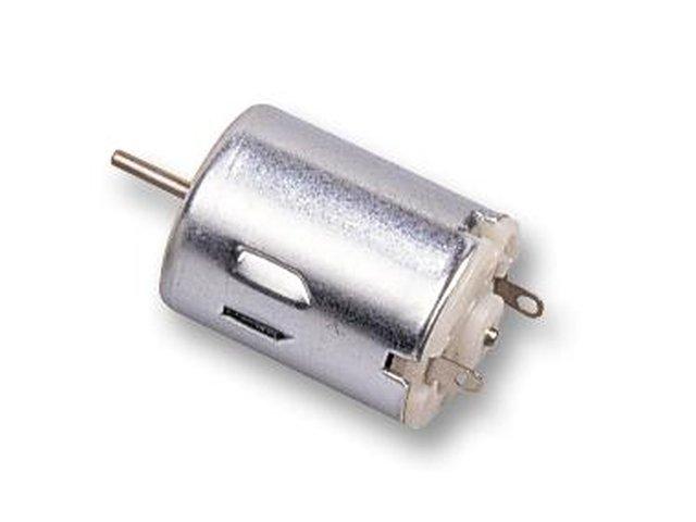 DC hobby motor 3...6VDC 1.64W 9600 rpm, 20 g-cm MOT DC132