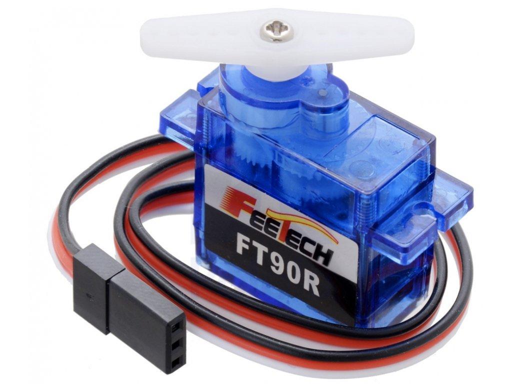 Servo motor 6VDC FEETECH FS90R - teljes körbefordulásra képes MOT SERVO170