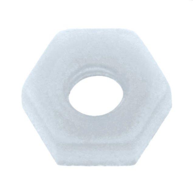 Anyacsavar M3 műanyag hatszög 2,7mm magas 5,5mm széles NUT M3/2755