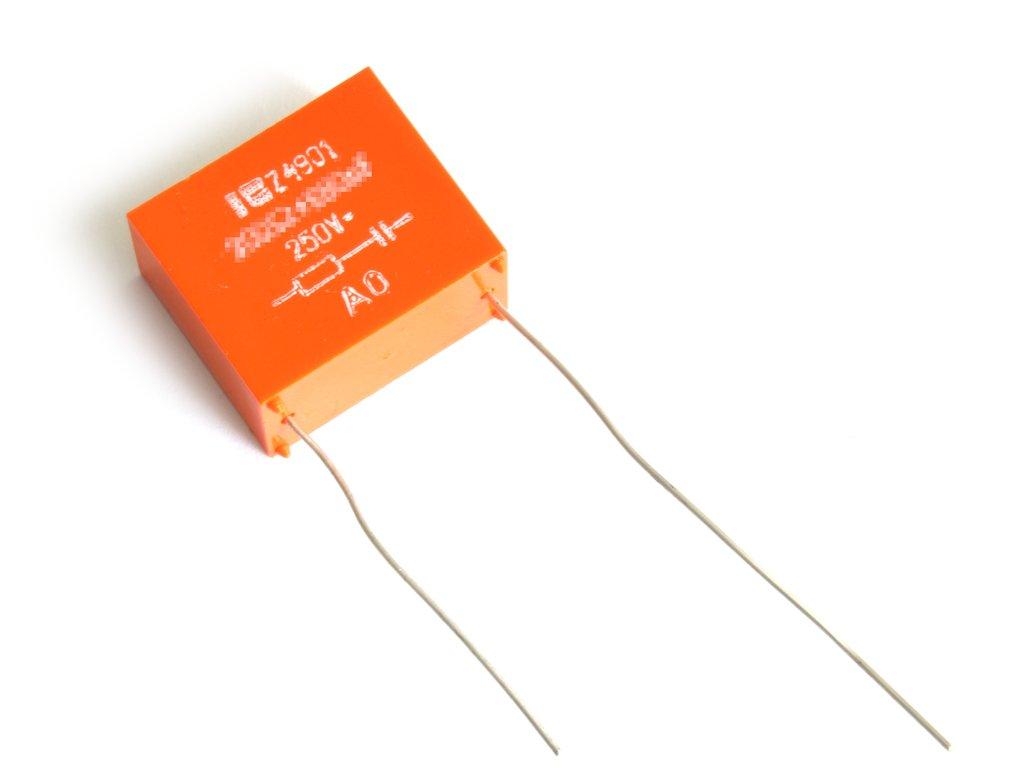 Zavarszűrő remix 250VAC Z4901 200 Ohm 680 nF CR Z4901 200R-680