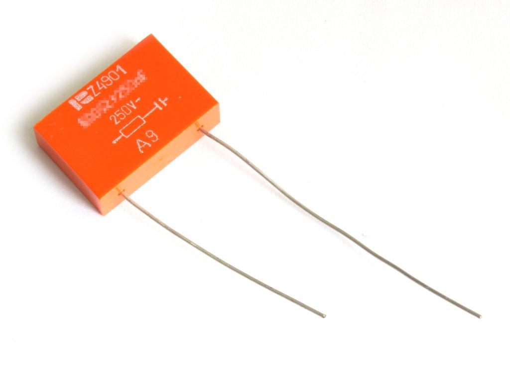 Zavarszűrő remix 250VAC Z4901 600 Ohm 260 nF CR Z4901 600R-250