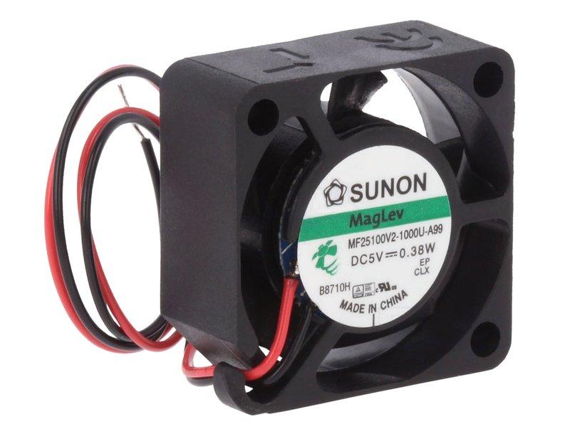 5V ventilátor 25x25x10 MF25100V2-A99 CY 2510/05V2-A99