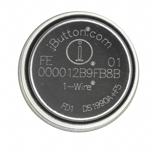Serial Number iButton 5mm DS1990A-F5