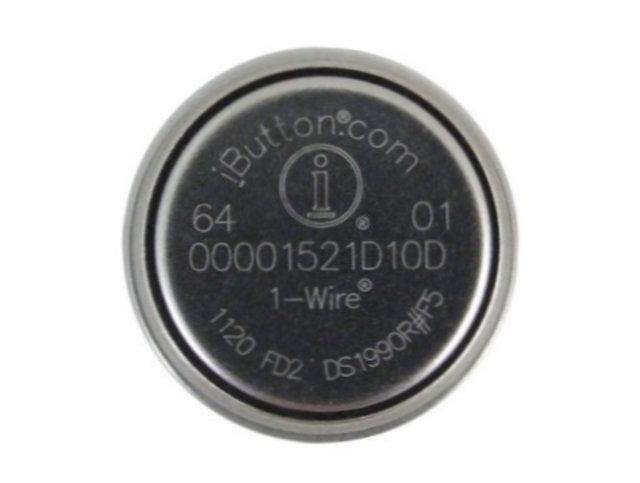 Serial Number iButton 5mm (DS1990A-F5 javított verzió) DS1990R-F5