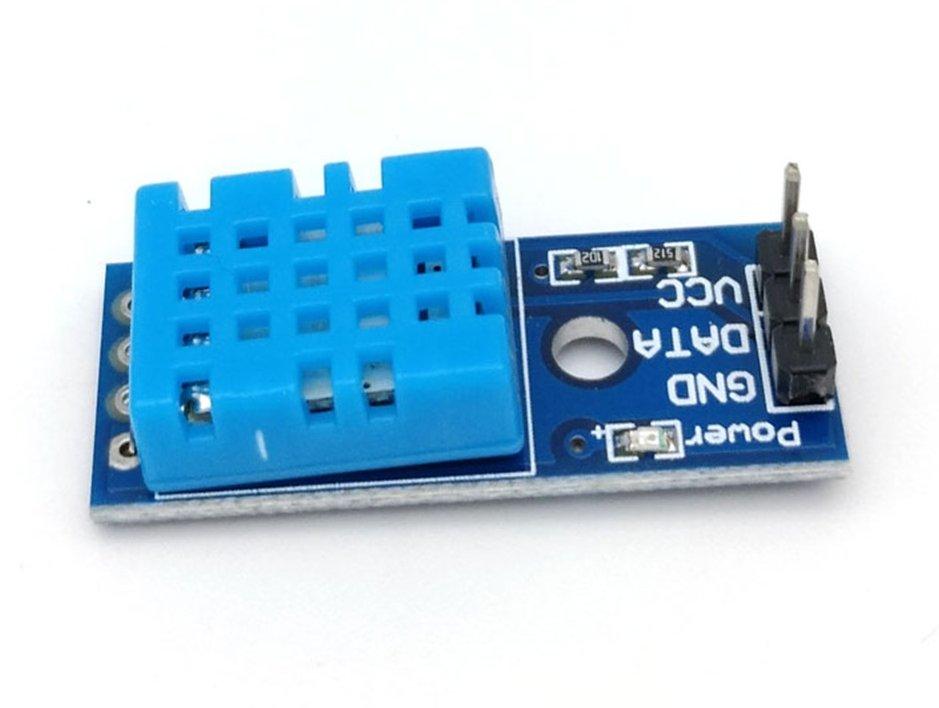 OKY3068-3 Digitális páratartalom és hőmérséklet érzékelő KIT DTH11 MODUL