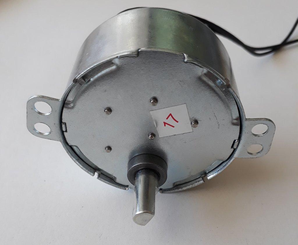 Szinkron motor CW 12VAC 4W 2.5/3RPM 50/60Hz MW-M023/12 -