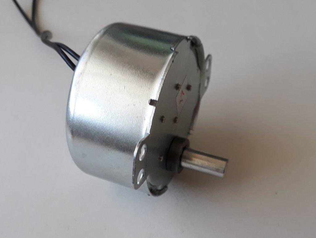 Szinkron motor CW 12VAC 4W 2.5/3RPM 50/60Hz