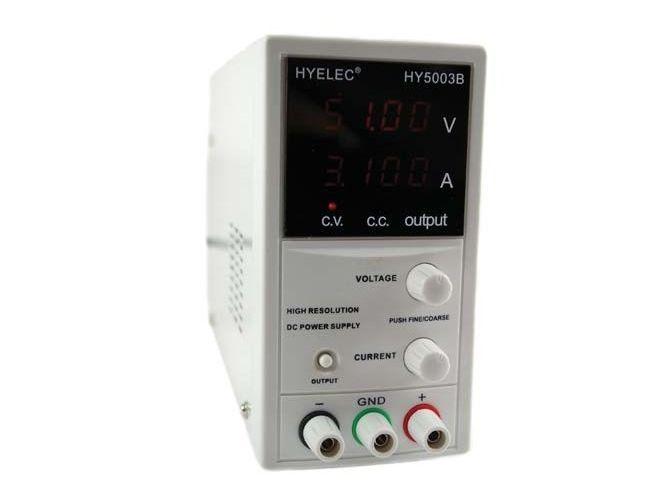 230VAC -> labor tápegység 0...50Vdc / 0...3A P.SUP.AS1003/5