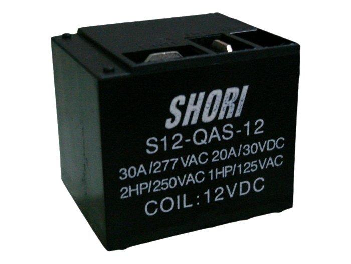 RELAY 1x250V 30A 12VDC 4p. S12-QAS-12 RELAY-S12-QAS-12