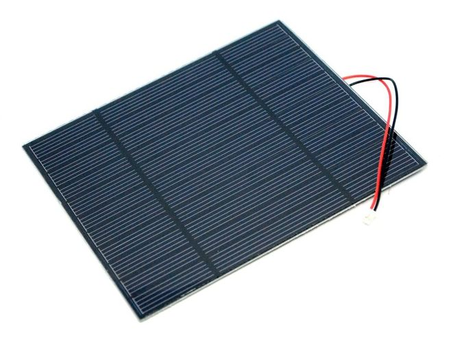 Napelem 5.5V 540mA 160x138x2.5mm Solar cell 5.5V 540mA