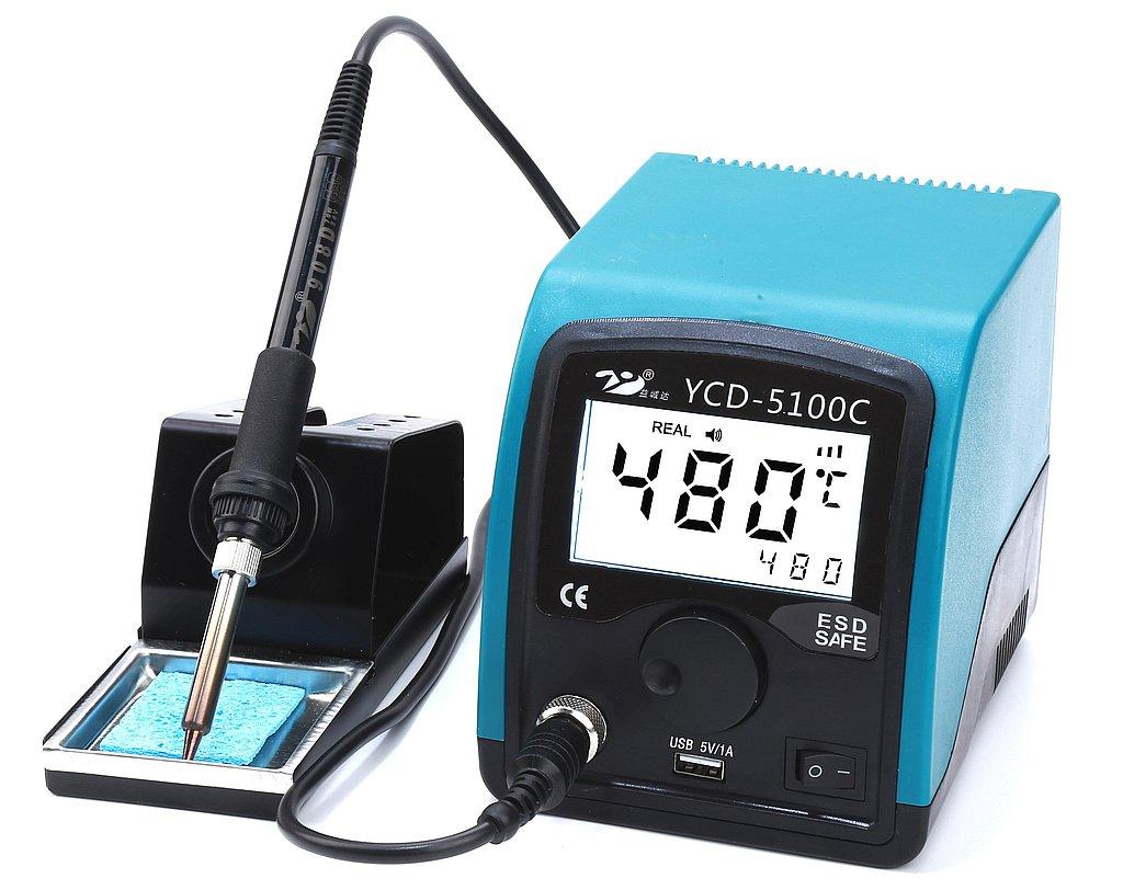 Digitális forrasztó állomás LCD kijelzős 70 W SOLD.YCD-5100C
