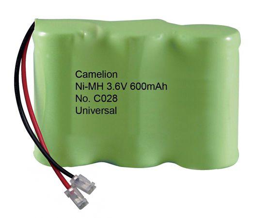 NI-MH 3.6V 600mAh akkumulátor 42,4x29,2x14,4mm Camelion ACCU TEL305-C