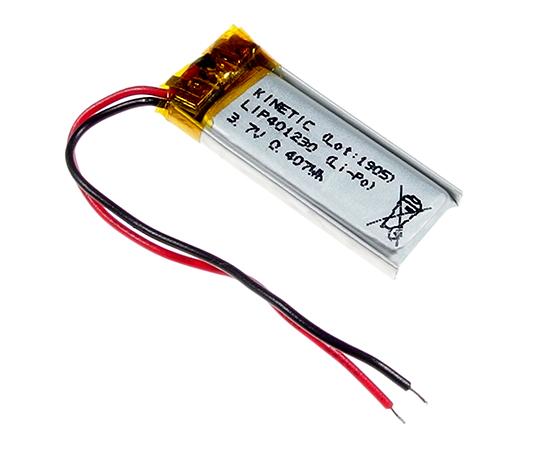Li-Po 3,7V 110mAh akkumulátor 33x13x4,3mm ACCU-3.6/110/LP