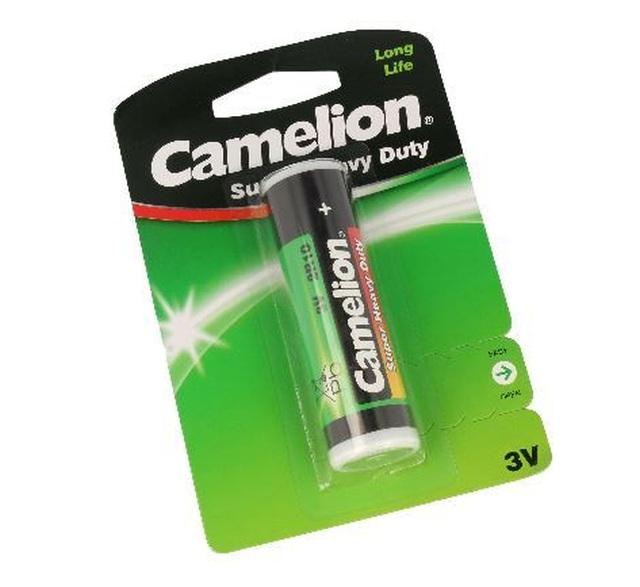 3V cink-szén elem, lámpaelem, Camelion 2R10 BAT 2R10