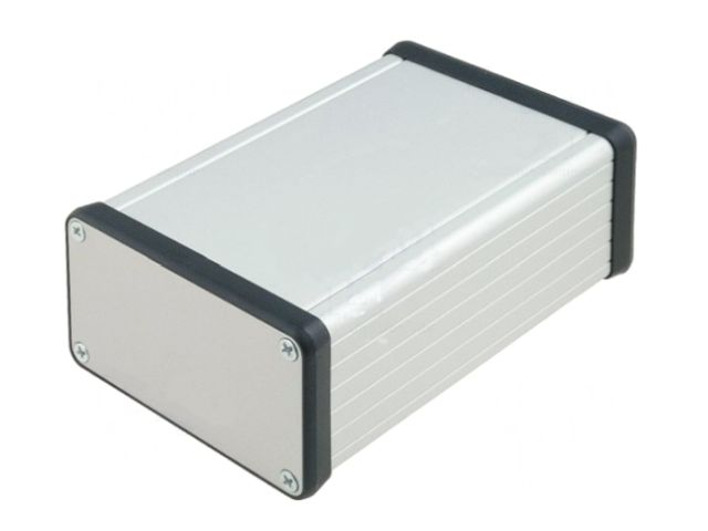 Univerzális alumínium doboz PCB 120x78x43mm BOX HM1455K1201