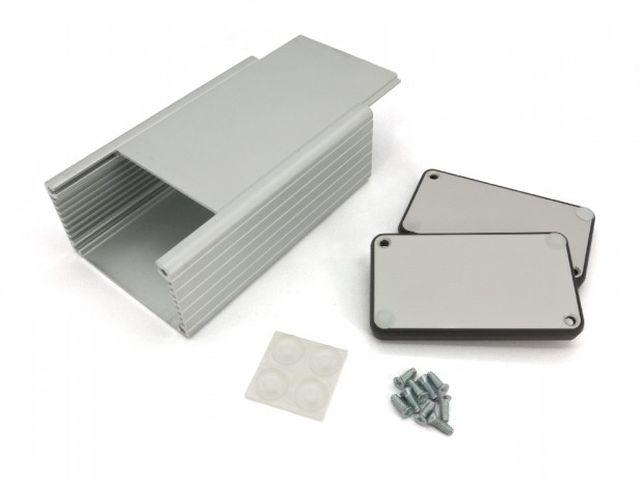 Univerzális alumínium doboz PCB 120x78x43mm BOX HM1455K1201 -