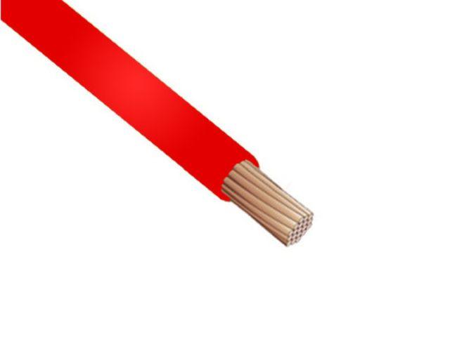 MCSK 0.5mm2 piros 1eres kábel, sodrott érrel CABLE MCSK0.5P