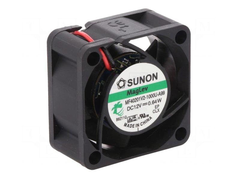 12V ventilátor 40x40x20 MF40201V2-A99 2 vezetékes! CY 4020/12-V2-A99-A