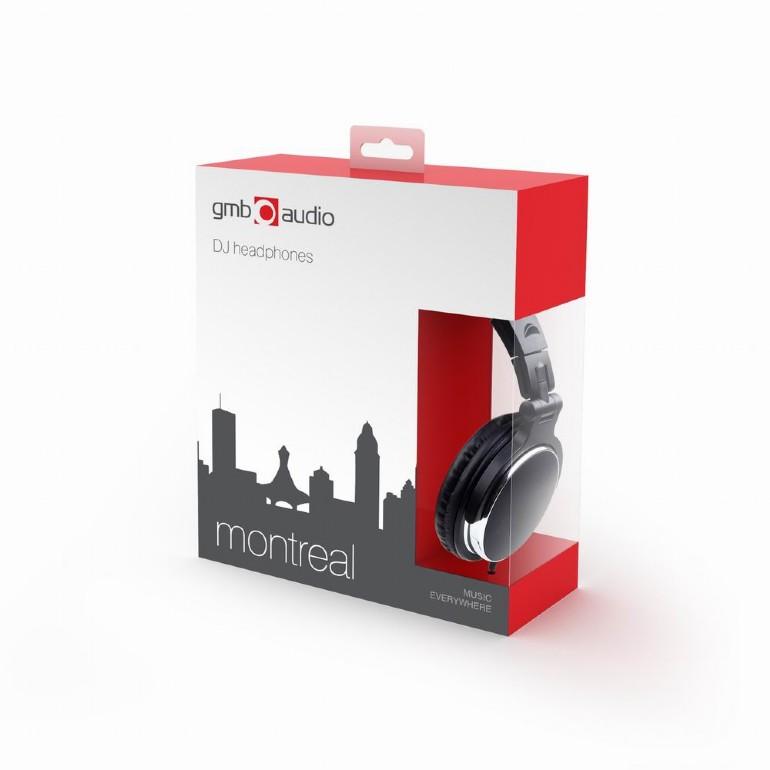 Összecsukható sztereó fejhallgató 3.5 és 6.3mm jack
