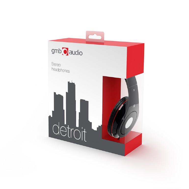 Összecsukható sztereó fejhallgató 3.5mm jack