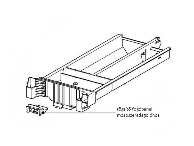 Miele mosógép rögzítő fogópanel M1-10622030