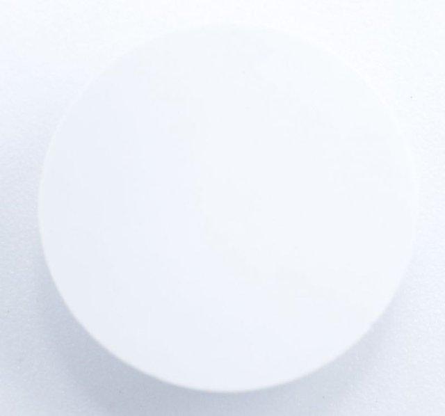 Miele mosó- és szárítógép záródugó, csavartakaró kerek, fehér M1-9049222