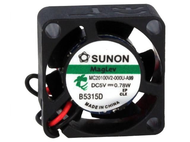 5V ventilátor 20x20x10 MC20100V2-A99 CY 2010/05-V2-A99