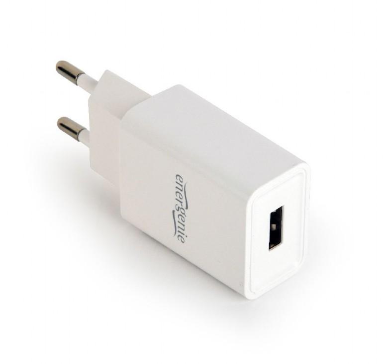 100...240VAC adapter USB 5VDC 2100mA (fehér) P.SUP.USB-AC232/W