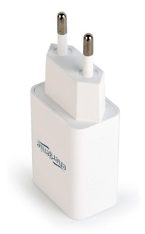 100...240VAC adapter USB 5VDC 2100mA (fehér) P.SUP.USB-AC232/W -