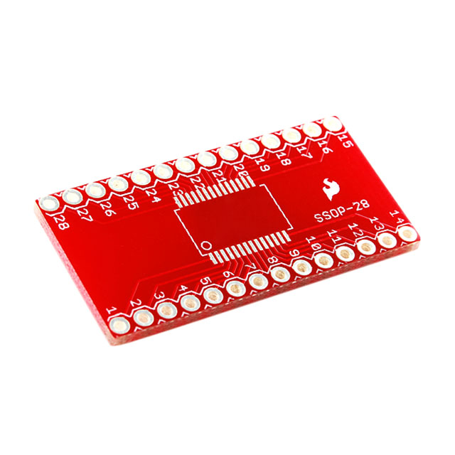 Átalakító adapter SMD-ről DIP-re 28 pin PP-SSOP