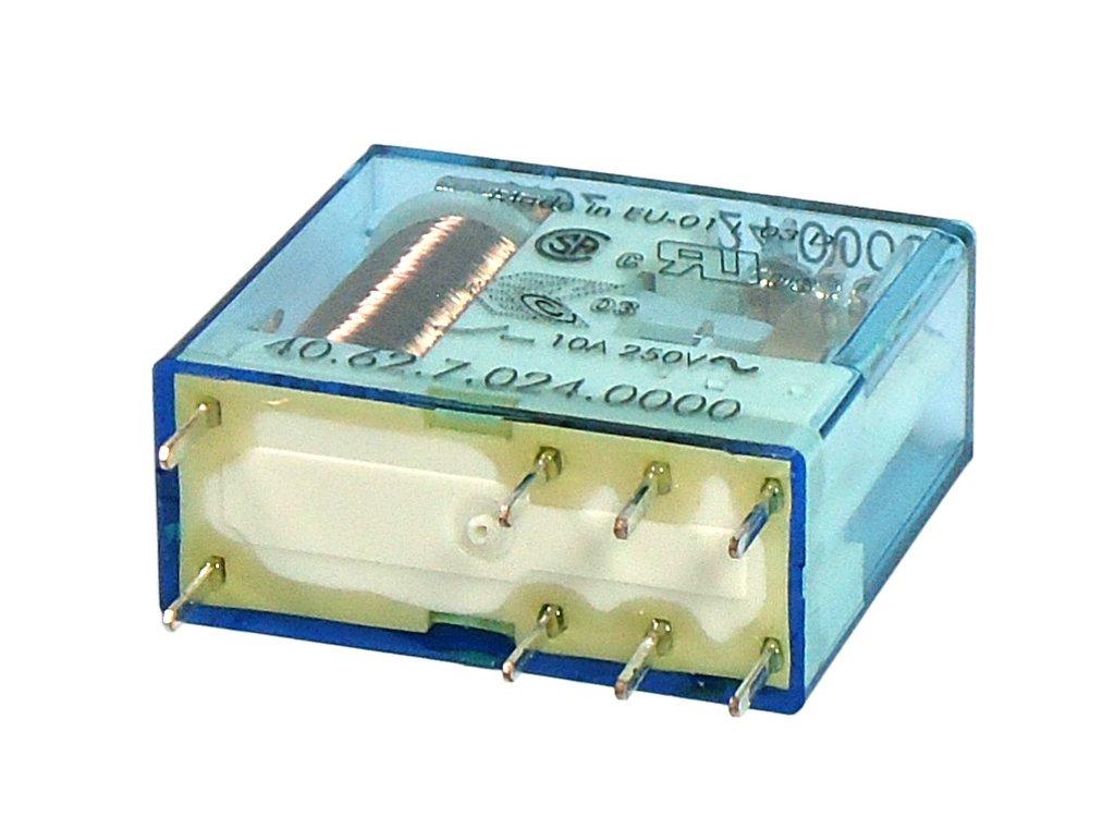 Relé 2x250V 10A/20A 24VDC 40.62.7.024.0000 RELAY-406270240000
