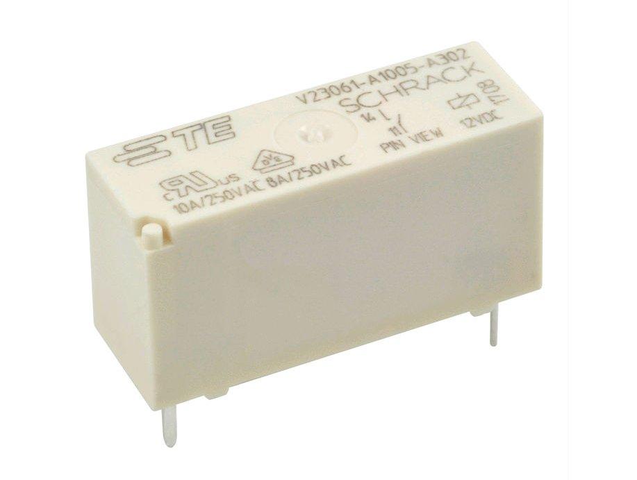 RELAY 1x250VAC 8A 12VDC 2-1393222-0 RELAY-V23061A1005A302 -
