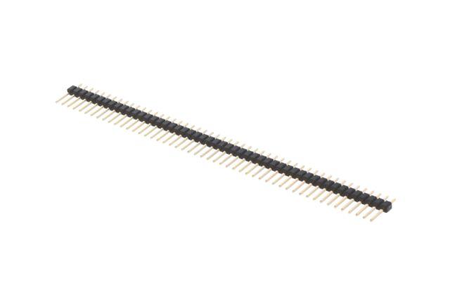 Egysoros tüskesor 2.54 1x50p.3/6mm 0.64 STSF 50P 3/06