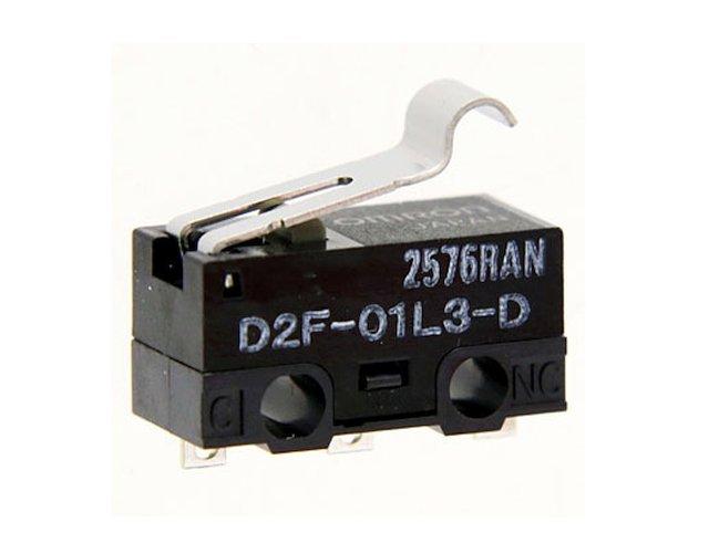 Mikrokapcsoló ON-(ON) 3p. 12.8 x 5.8 x 6mm SW11504LKH