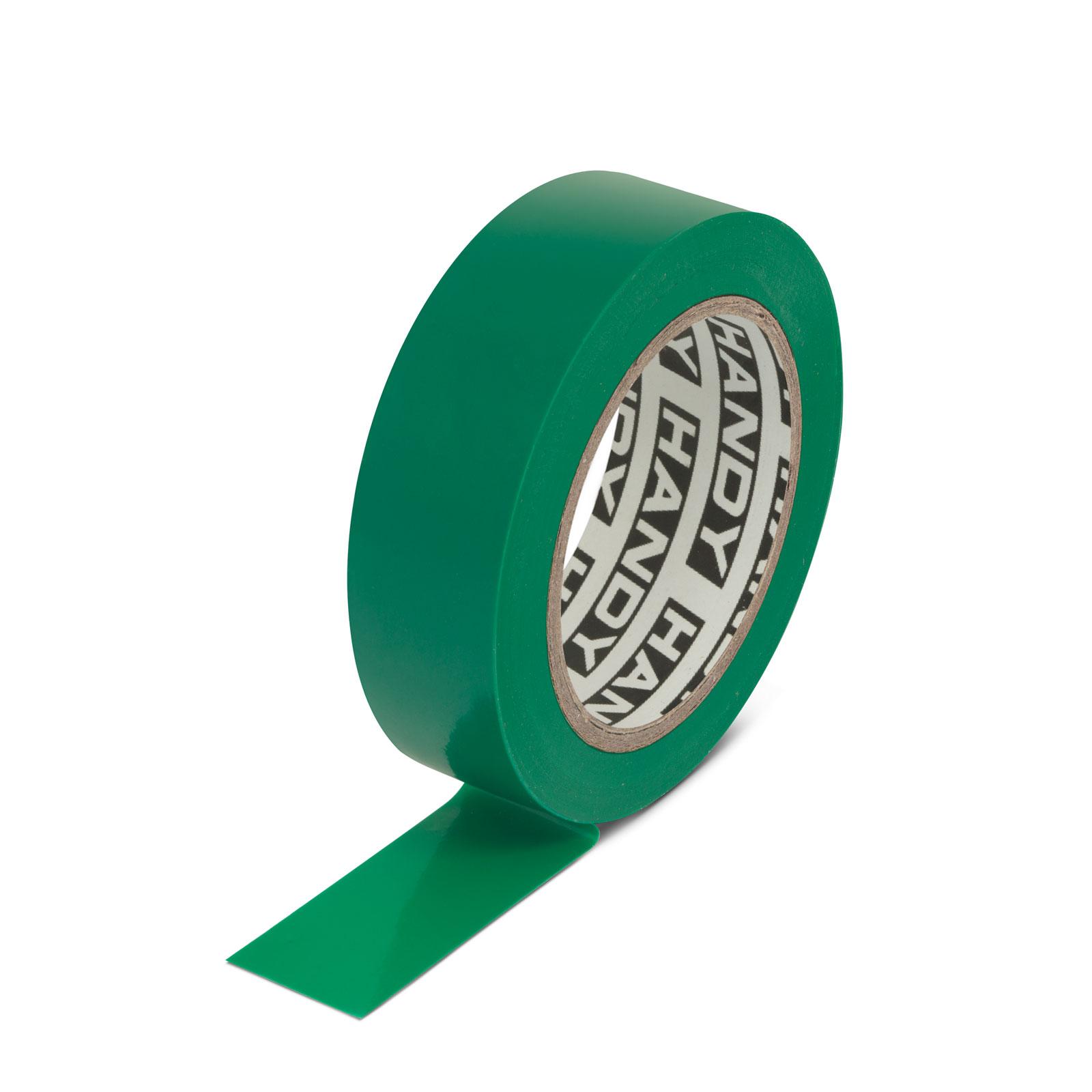 Szigetelőszalag 19mm 10m zöld V-00230 -