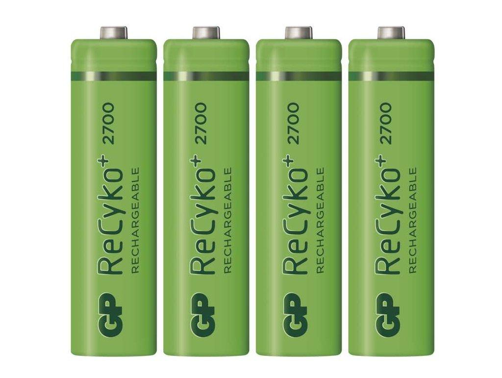 Ni-MH 1.2V 2700mAh akkumulátor 4xAA ceruza, ReCyko ACCU-R6 2700-4BR -