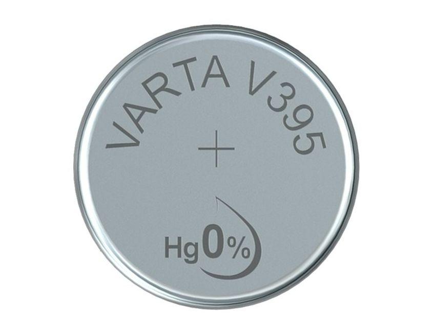 1.55V óraelem ezüst gombelem Varta V395 BAT 395 Varta